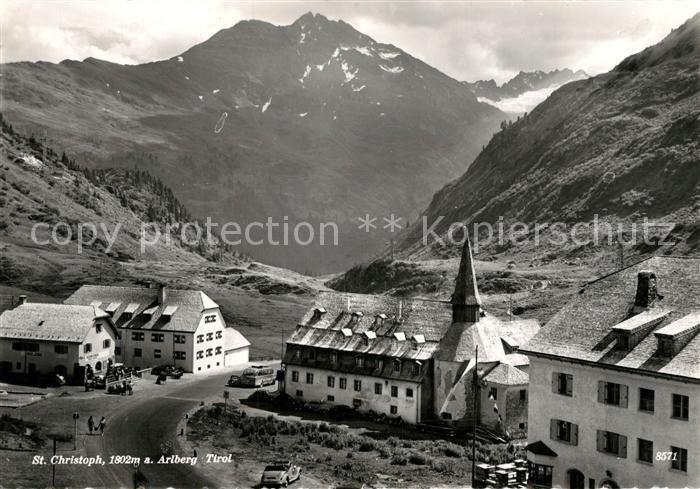 AK / Ansichtskarte St_Christoph_Arlberg Wintersportplatz Alpen St_Christoph_Arlberg