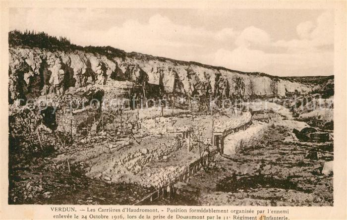 AK / Ansichtskarte Verdun_Meuse Les Carrieres d Haudromont Verdun Meuse