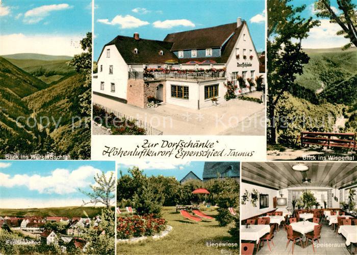AK / Ansichtskarte Espenschied Gaststaette Zur Dorfschaenke ...