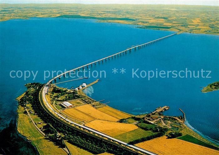 AK / Ansichtskarte Falster Storstromsbruecke Fliegeraufnahme Falster