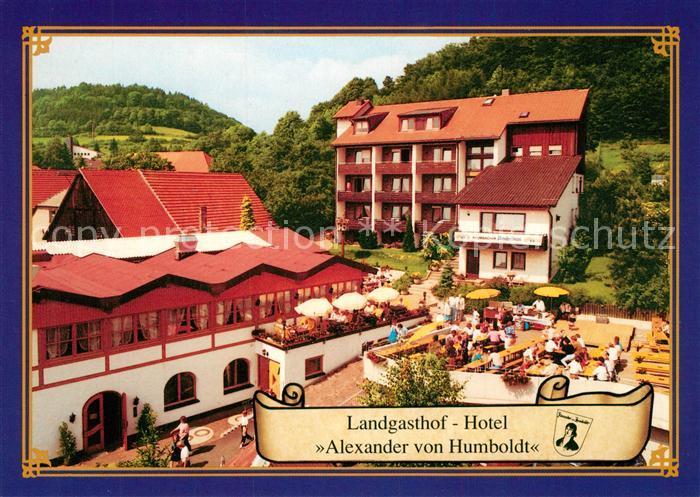 AK / Ansichtskarte Goldkronach Landgasthof Hotel Alexander von Humboldt Goldkronach