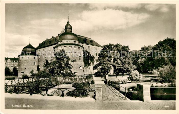 AK / Ansichtskarte oerebro Schloss oerebro