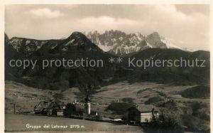 AK / Ansichtskarte Mittelberg_Kleinwalsertal mit Seiss Gruppo del Latemar Mittelberg_Kleinwalsertal