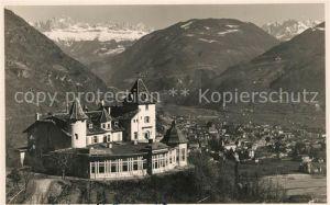 AK / Ansichtskarte Bolzano Castello e Hotel Guncina Bolzano