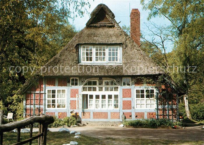 AK Ansichtskarte Worpswede Haus im Schluh Pension