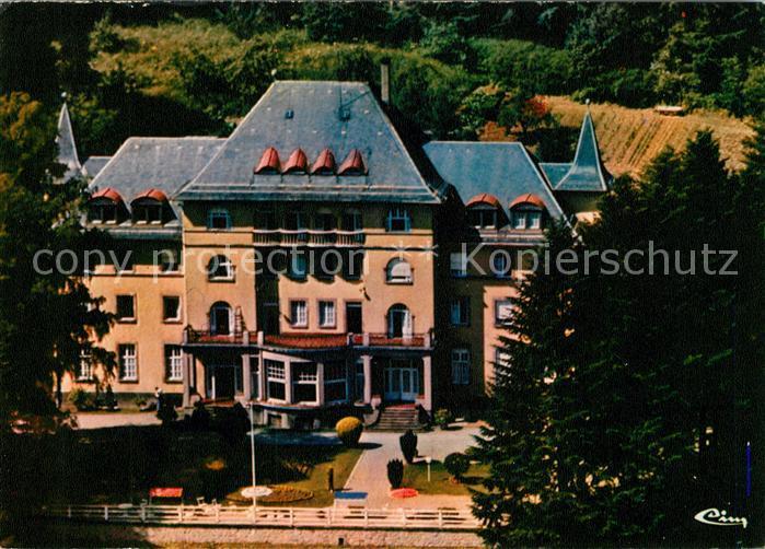 AK / Ansichtskarte Masevaux_Haut_Rhin_Alsace Fliegeraufnahme Maison de convalescence  Masevaux_Haut_Rhin_Alsace