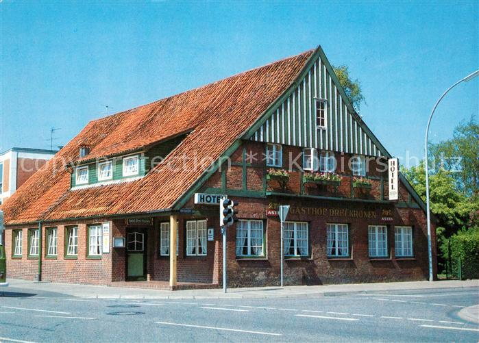AK / Ansichtskarte Elmshorn Hotel Drei Kronen Elmshorn