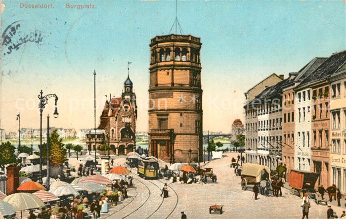AK / Ansichtskarte Duesseldorf Burgplatz Duesseldorf
