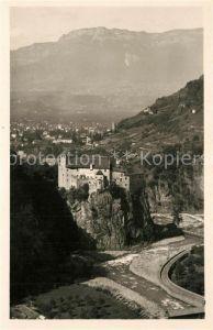 AK / Ansichtskarte Bolzano Castel Roncolo verso la Mendola Bolzano