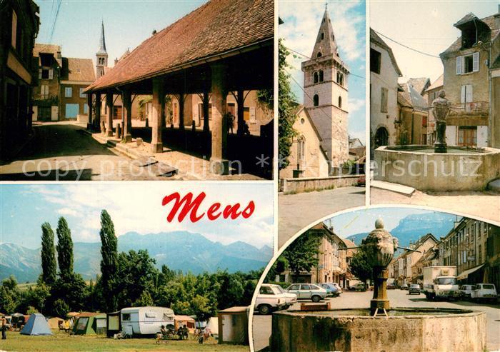 AK / Ansichtskarte Mens La Halle Fontaines Mens