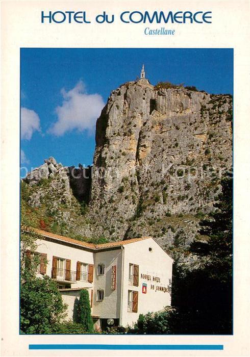 AK / Ansichtskarte Roquefort les Pins Hotel du Commerce Castellane Roquefort les Pins