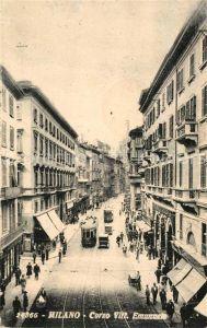 AK / Ansichtskarte Milano Corso Vittorio Emanuele Milano