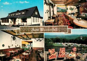Bestwig Gasthaus Cafe Restaurant Zum Wasserfall Bestwig