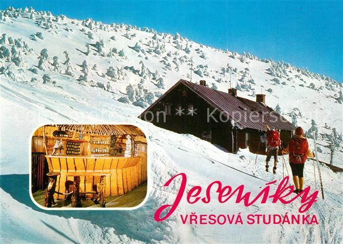 AK / Ansichtskarte Jeseniky Vresova Studanka Jeseniky