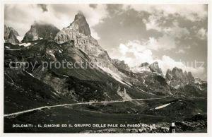 AK / Ansichtskarte Dolomiti Il Cimone Il Gruppo delle pale da Passa Rolle Dolomiti