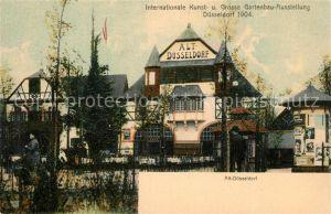 AK / Ansichtskarte Duesseldorf Internationale Kunst Grosse Gartenbau Ausstellung Duesseldorf