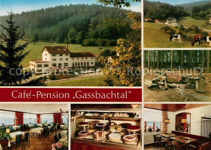 Gras Ellenbach Cafe Pension Gassbachtal Kuehe Gras Ellenbach