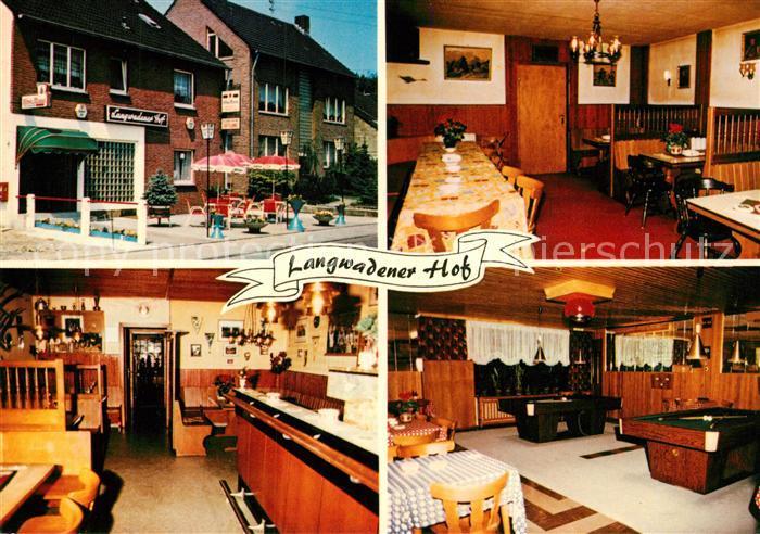AK / Ansichtskarte Grevenbroich Langwadener Hof Restaurant Grevenbroich
