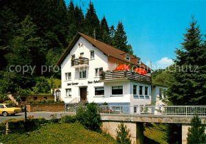 AK / Ansichtskarte Malberg_Eifel Hotel Pension Haus Hubertus Malberg Eifel