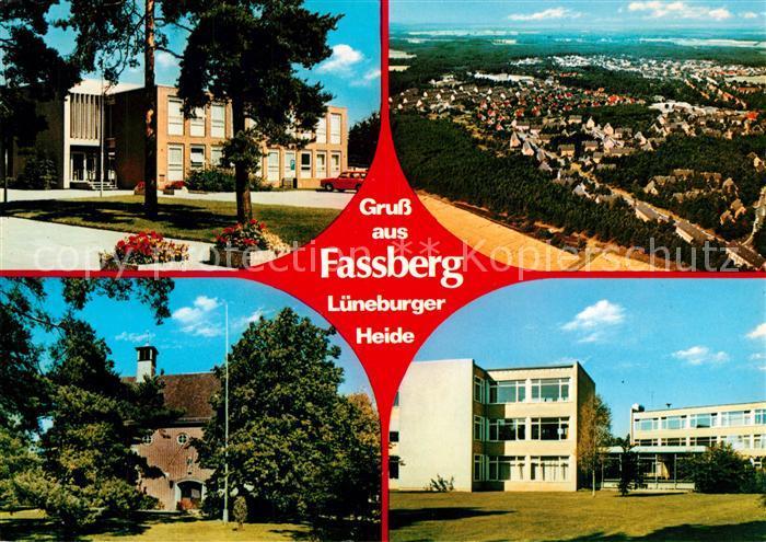 AK / Ansichtskarte Fassberg Panorama Stadtansichten Fassberg