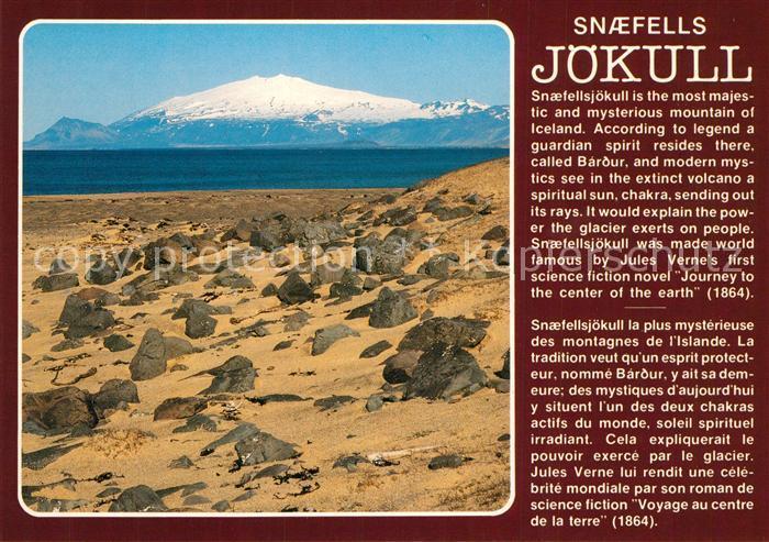AK / Ansichtskarte Island Snaefells Joekull Island