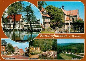 AK / Ansichtskarte Barsinghausen Rathaus Freilichtbuehne Kloster Barsinghausen