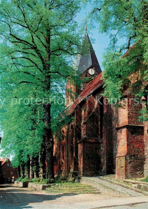 AK / Ansichtskarte Gadebusch Ev Stadtkirche Gadebusch
