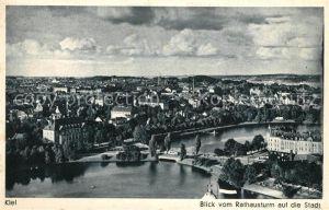 AK / Ansichtskarte Kiel Blick vom Rathausturm auf die Stadt Kiel