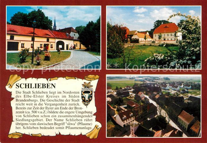 AK / Ansichtskarte Schlieben Drandorfhof Amtsgebaeude  Schlieben