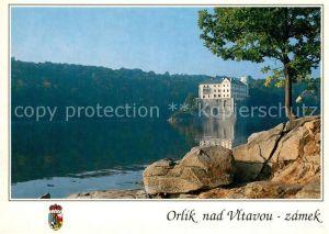 AK / Ansichtskarte Orlik_nad_Vltavou Zamek Schloss an der Moldau Orlik_nad_Vltavou