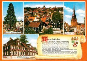 AK / Ansichtskarte Wermelskirchen Panorama Mammutkiefer Kirche Wermelskirchen