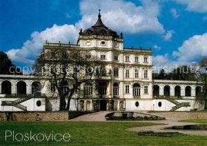 AK / Ansichtskarte Ploskovice Zamek Schloss Ploskovice