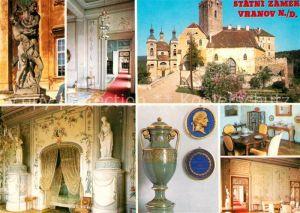 AK / Ansichtskarte Vranov_nad_Dyji Statni Zamek Schloss Innenansichten Vranov_nad_Dyji