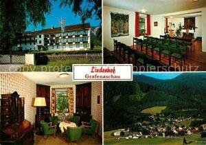 AK / Ansichtskarte Grafenaschau Lindenhof Erholungsheim Innere Mission Muenchen Fliegeraufnahme Huber Karte Nr 10.812 Grafenaschau