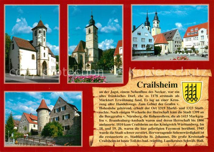 AK / Ansichtskarte Crailsheim Stadtmuseum Sankt Johannes Schweinemarkt Crailsheim