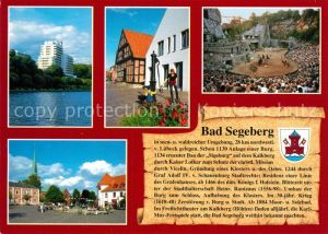 AK / Ansichtskarte Segeberg_Bad Brunnen Freilichtbuehne Marktplatz Segeberg_Bad