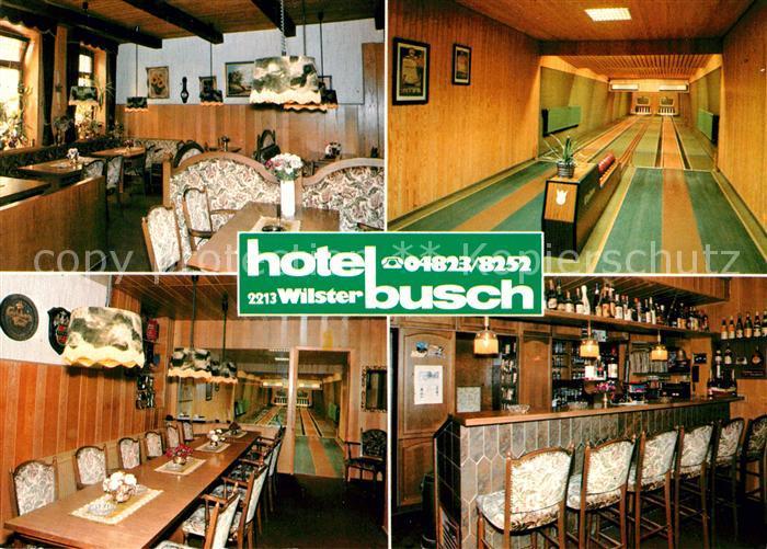 AK / Ansichtskarte Wilster Hotel Busch Restaurant Krug zum Grueen Kranze Wilster 0