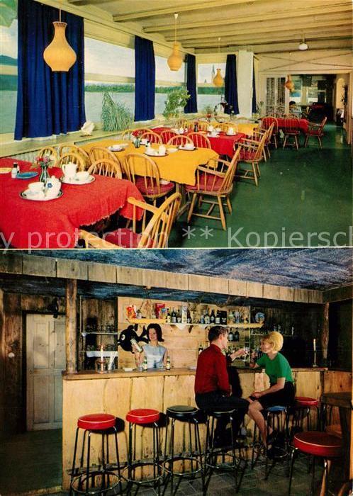 AK / Ansichtskarte Schliersee Cafe Tanzbar Weinhaus Restaurant Fischerstueberln Schliersee 0