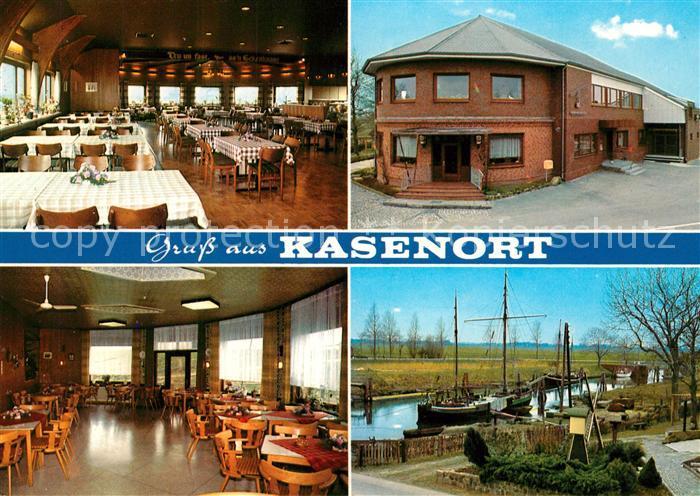 AK / Ansichtskarte Kasenort Restaurant Zur Schleuse Kasenort 0