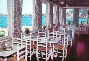 AK / Ansichtskarte Schliersee Restaurant Seecafe Fischerstueberl Schliersee