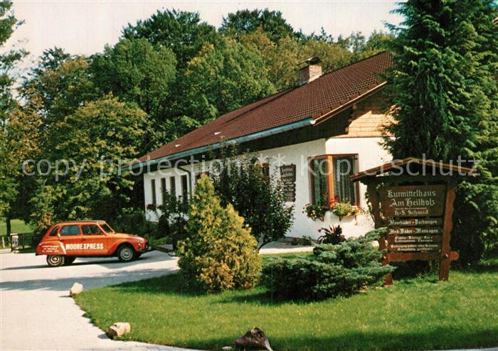 AK / Ansichtskarte Bad_Feilnbach Kurmittelhaus am Heilholz Bad_Feilnbach 0
