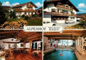 AK / Ansichtskarte Kruen Alpenhof Hotel Pension  Kruen
