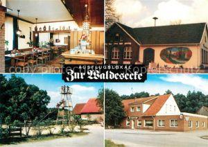 AK / Ansichtskarte Stadtlohn Bueren Restaurant Zur Waldesecke Stadtlohn