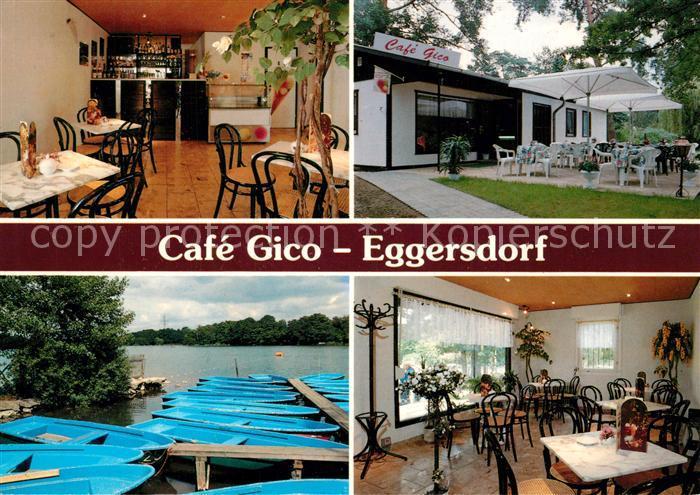 AK / Ansichtskarte Eggersdorf_Strausberg Cafe Gico Bootsanleger Boetzsee Eggersdorf_Strausberg 0