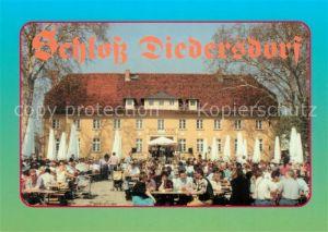 AK / Ansichtskarte Diedersdorf_Zossen Schloss Gartenrestaurant Diedersdorf Zossen