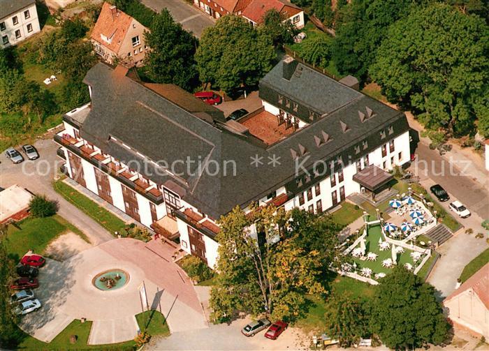 AK / Ansichtskarte Oybin Hotel Oybiner Hof Fliegeraufnahme Oybin 0