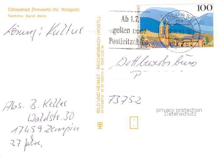 AK / Ansichtskarte Zinnowitz_Ostseebad Erholungsheim der IG Wismut Strand Zinnowitz_Ostseebad 1