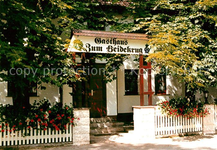 AK / Ansichtskarte Oberjuenne Gasthaus Zum Heidekrug Oberjuenne 0
