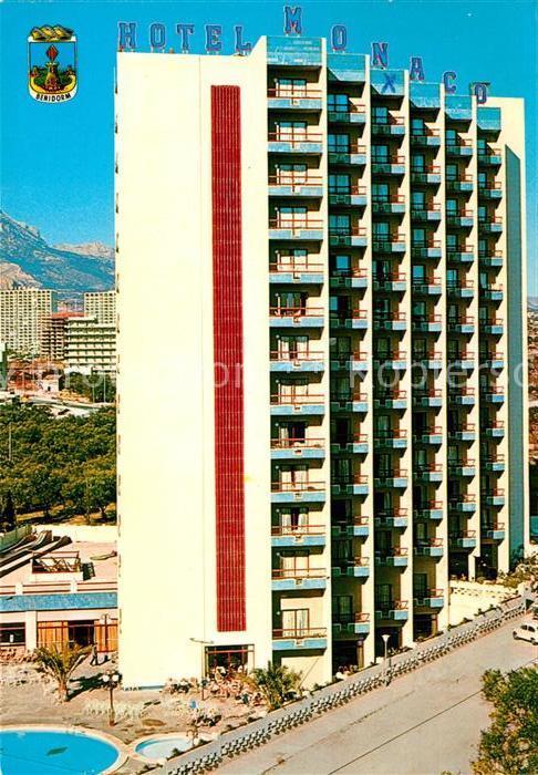 AK / Ansichtskarte Benidorm Hotel Monaco Benidorm 0