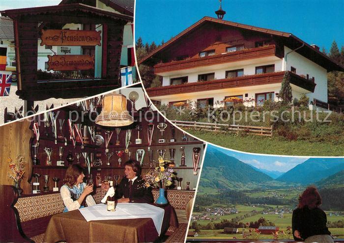 AK / Ansichtskarte Groebming_Steiermark Pension Irmgard Landschaftspanorama Dachstein Tauern Region Groebming_Steiermark 0